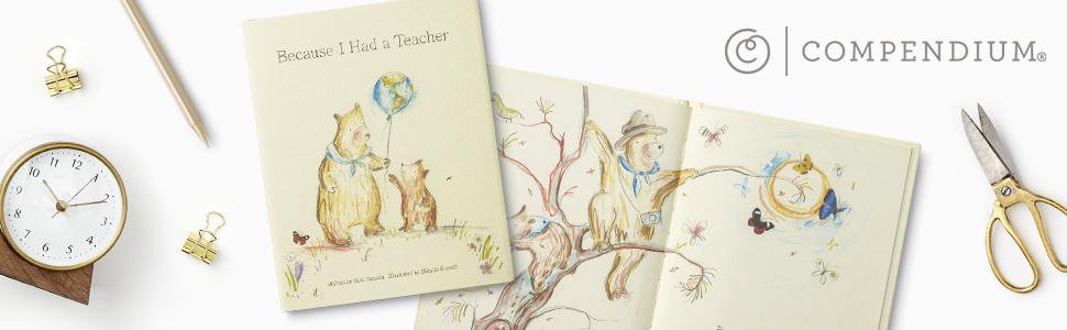 compendium, live inspired, teacher appreciation, kobi yamada