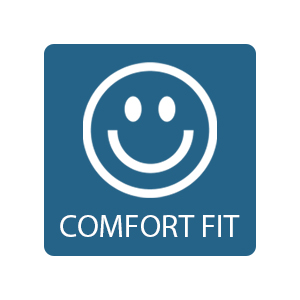 Comfort fit stretchy stretch side panels