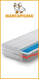 marcapiuma materassi memory waterfoam sunshine ergonomico carbonio silver 3d aerazione comfort top