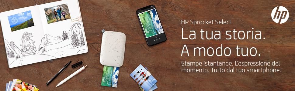 HP Sprocket Select