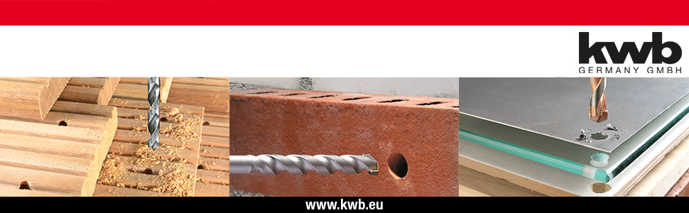 KWB POWER-BOX HOLZBOHRER 90e UND FORSTNERBOHRER-SATZ BOHRER-SET 8-TEILIG