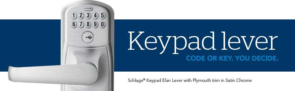 Schlage Fe575 V Ply 619 Fla Plymouth Keypad Entry With