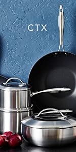 nonstick, induction, non-toxic, SCANPAN, Greenpan, fry pan,