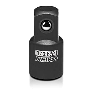 """3//4/"""" Drive 8pc Impact Impacted Socket Adapter Adaptor Step Up Reducers 1//4/"""""""