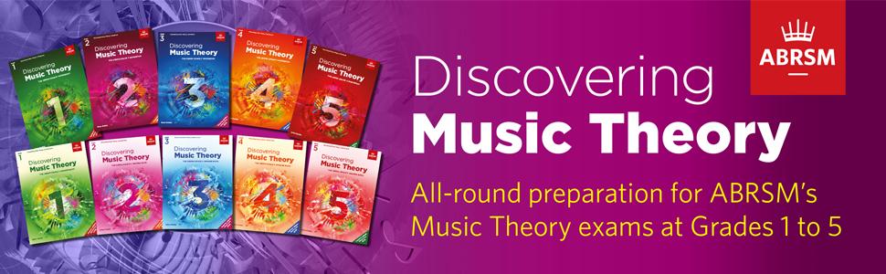 Discovering Music Theory ABRSM Grade 1 2 3 4 5 Grades Exams