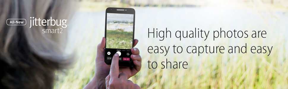 High quality photos are easy to capture and easy to share