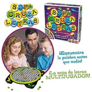 Sopa CruzaLetras - Juego de Sopa de Letras (Goliath 70474