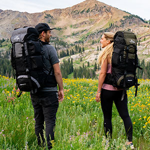 TETON Sports Scout3400 Internal Frame Backpack for men and women; fits most sizes.