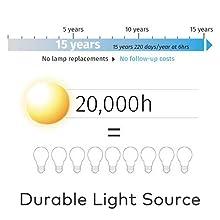 Casio LED laser hybrid light source 20,000 hour life DLP LCD LED Projector