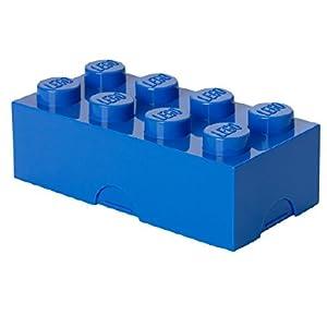 LEGO 4023 - Caja de almuerzo, color azul, 200 x 100 x 75 mm: Amazon.es: Hogar