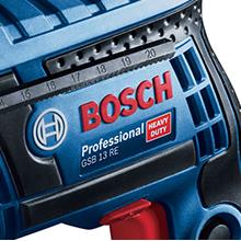 Furadeira Bosch com Impacto GSB 13 RE 650W 127V