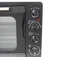 Bastilipo Milan Black - Horno de cocina - electrico - sobremesa ...
