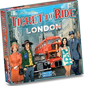 Ticket to ride; London; Ticket to ride London; Days of Wonder; Alan R. Moon