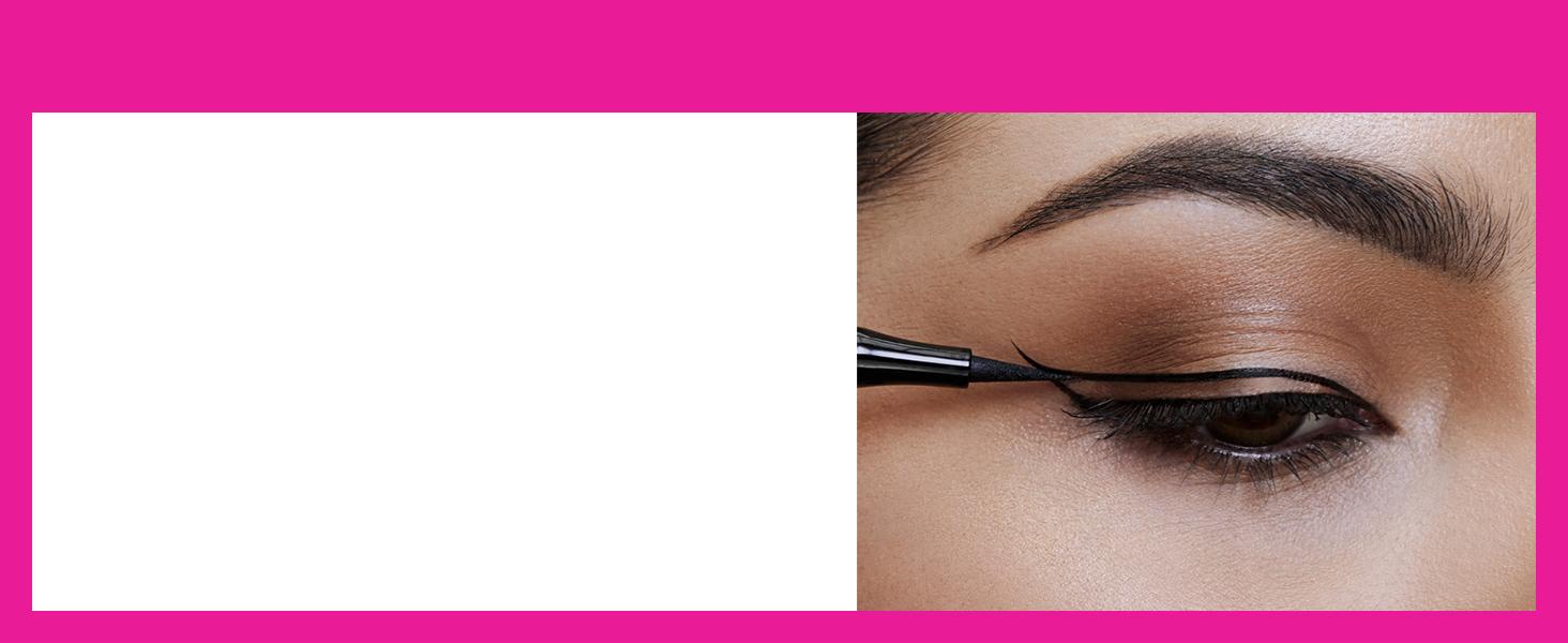 master precise, eye liner, eyes, all day, liquid liner, eyes, matte, instant precise, felt tip