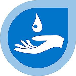 Amlactin Rapid Relief hand and drop icon
