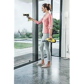 Kärcher 1.633-440.0 Window Vac WV 5 Plus - Limpiadora de ventanas a batería (aspirador limpiacristales): Amazon.es: Hogar