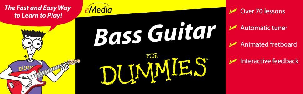 Amazon com: eMedia Bass Guitar For Dummies [Mac Download