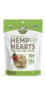 manitoba harvest hemp hearts organic omegas protein chia flax keto paleo vegan plant based non gmo