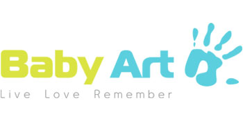 Baby Art My Baby Touch - Marco doble foto con huella, blanco