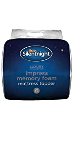 Silentnight Impress 5 Cm Memory Foam Mattress Topper