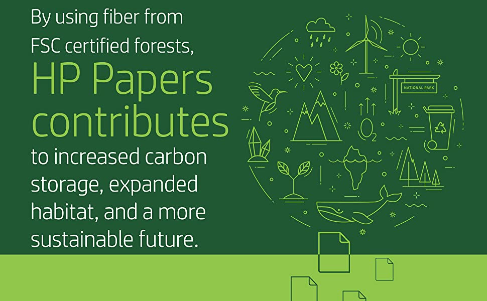 HP Papers contributes to increased carbon storage, expanded habitat - FSC certified forests