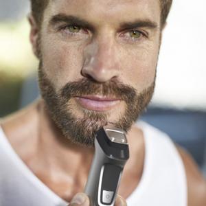 Philips Barbero MG7720/15 Recortador de barba y pelo, óptima precisión, 14 en 1 tecnología Dualcut, autonomía de 120 minutos, batería, Negro/Plata: Amazon.es: Salud y ...