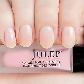 Amazon.com: Julep Take A Breather Oxygen Nail Treatment, Sheer Ivory ...