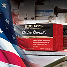Bigelow Tea, a family owned business dedicated to producing fine quality teas for any occasion.