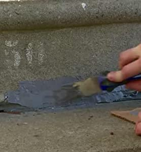 concrete; chips; cracks; driveway; garage; cement; slab; repair; fix; seams; tree roots; mortar; joi