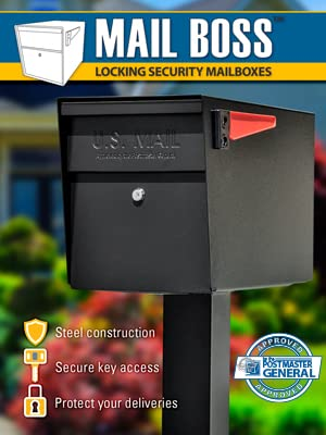 USPS Approved full-service residential mailbox