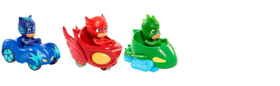 ... Vehículos de los PJ Masks! Ampliar