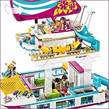 LEGO Friends On The Sunshine Catamaran Set Features Functions