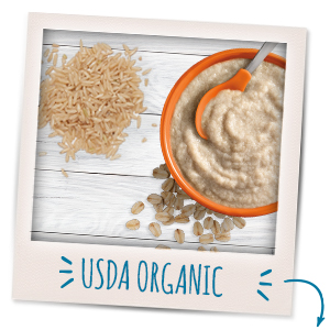 USDA certified organic ingredients you can feel good about