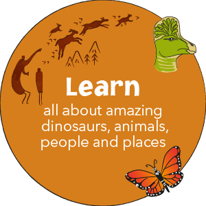 Learn all about amazing people, places and animals