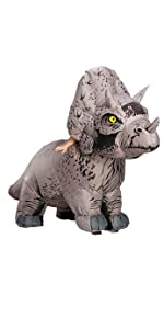 Triceratops inflatable costume