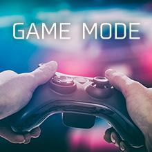低遅延 ゲームモード 最小遅延は約0.83ms ボタン 押  表示されるまでの遅延が少な FPS 格闘ゲームなど  最適