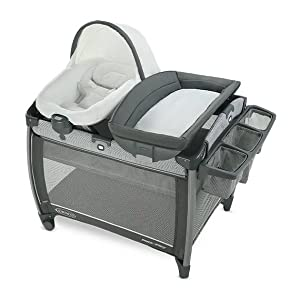 Graco Pack 'n Play Quick Connect Portable Seat DLX Playard