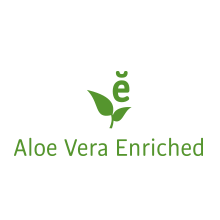Enriched with Aloe Vera