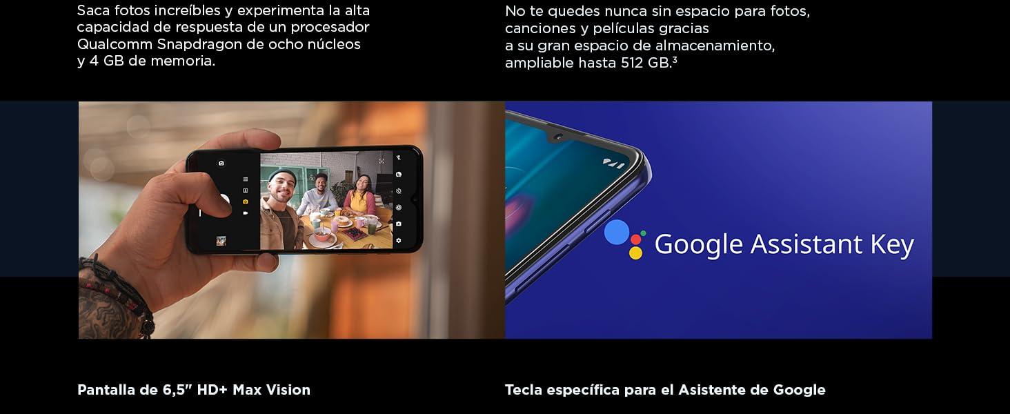 Moto g9 play - Pantalla Max Vision HD+ de 6.5