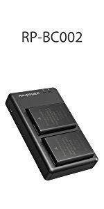 RAVPower Camera Batteries for Nikon EN-EL14