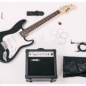 Electric Guitar Super Kit and Accessories