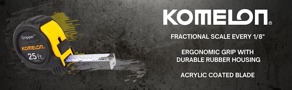 Komelon, komelon tools, tape measure, komelon tape measure, hand tools, tools