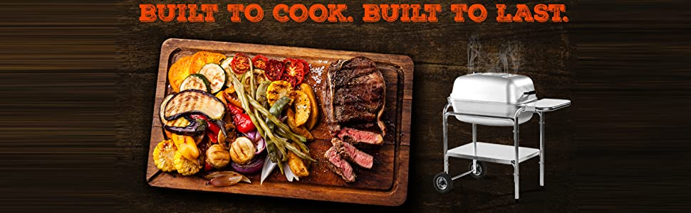 PK Grills. Built to cook. Built to last.
