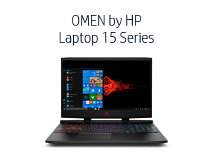 OMEN by HP Laptop 15 Series (Gamora, 15-dc1030nr)