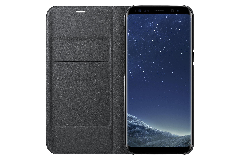 Amazon Samsung Galaxy S8 LED View Wallet Case Black