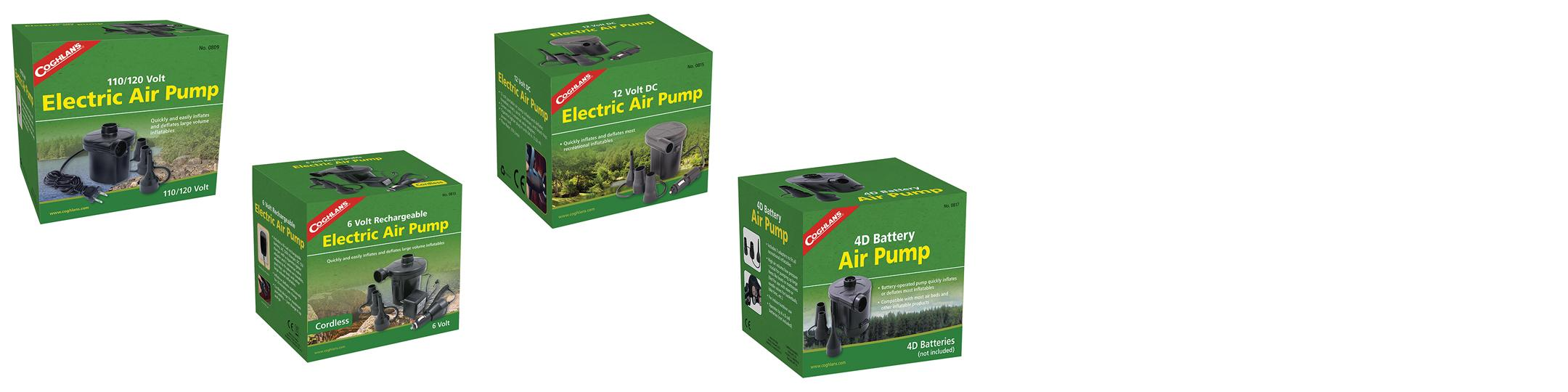 Amazon coghlans electric air pump 110120 volt coghlans from the manufacturer sciox Choice Image