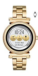 Amazon.com: Michael Kors Womens Access Runway Touchscreen ...