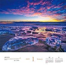 KAGAYA 奇跡の風景 CALENDAR 2019 天空からの贈り物 インプレス カレンダー