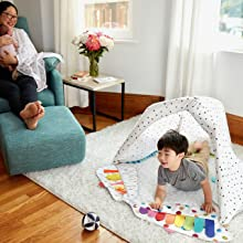 fun play tent fort teepee for toddler
