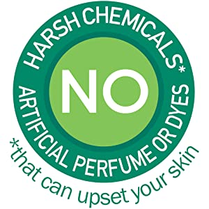 No Harsh Chemicals*